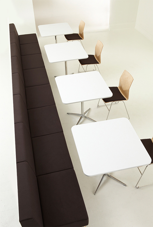 Tombolo: модульный диван для офиса