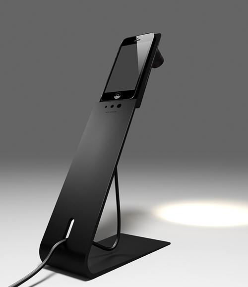 iSpot: настольная лампа и зарядное устройство