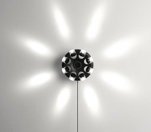 Восьмиламповый светильник