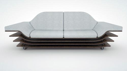 Крылатый диван