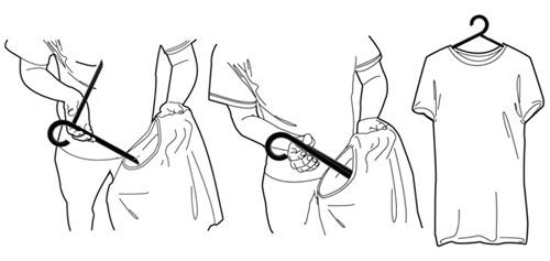 Складные плечики для одежды