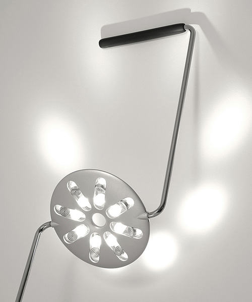 Светильник с 16-ю лампами