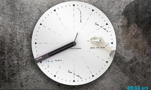 Часы для заметок