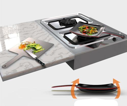 Разделочная доска и сковорода: два в одном