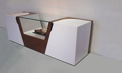 Murazzi: современный камин