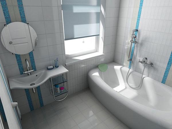 Фото Минимализм в ванной комнате