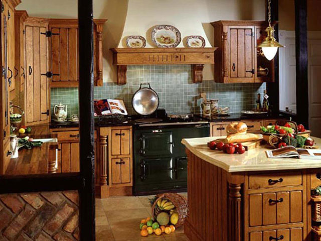 Стиль кантри в интерьере. Дизайн в деревенском стиле (фото)
