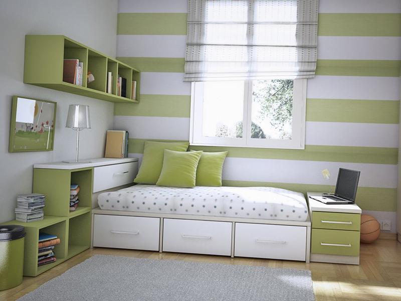 Комната подростка в бежевых тонах