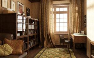Как устроить кабинет, если под него нет отдельного помещения