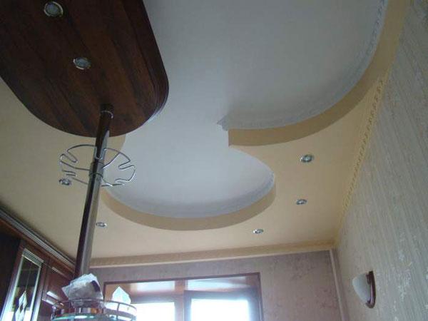Фото Многоуровневые потолки