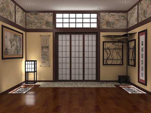 Фото комнаты в японском стиле