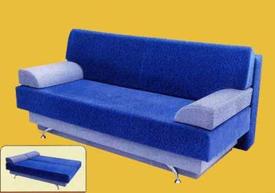 Механизмы трансформации диванов: диван-кровать Еврокнижка
