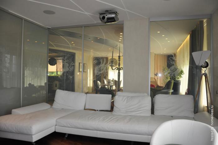 Смарт стекло в интерьере