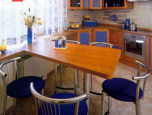 Фото Планировка кухни 2-х, 3-х или 4-х комнатной квартиры
