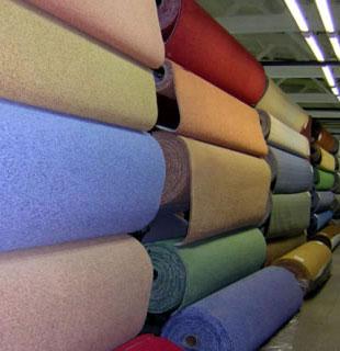 Напольные ковровые покрытия (ковролин) для дома