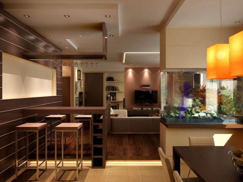 Дизайн и интерьер большой квартиры. 13 фото интерьеров квартир большого размера