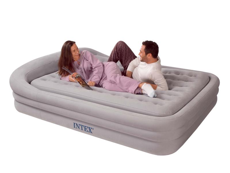 Двуспальная надувная кровать