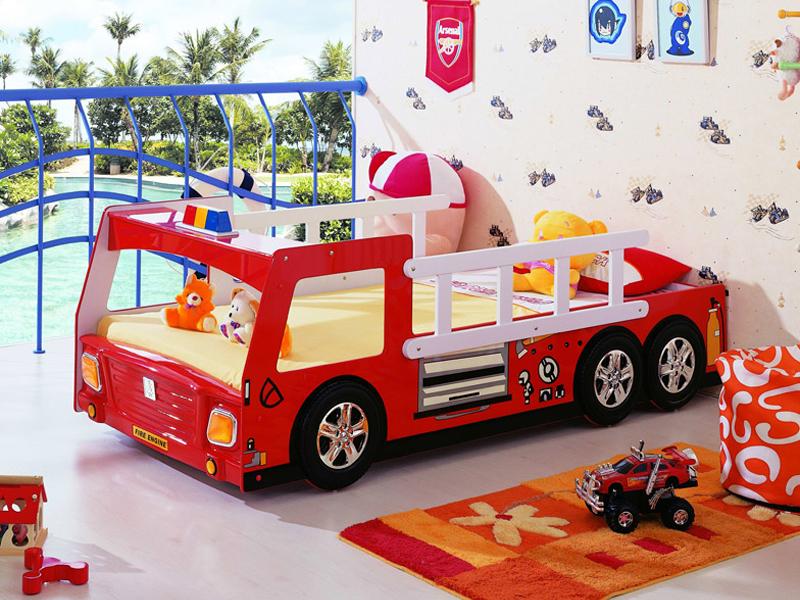 Пожарная кровать машина