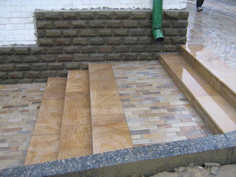 Использование натурального камня в строительстве