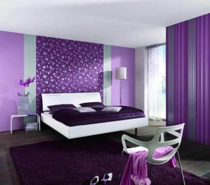 Смело и стильно: фиолетовые обои в интерьере вашего дома