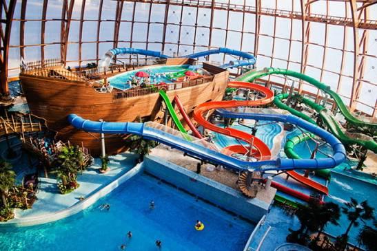 ТОП-10 лучших аквапарков России