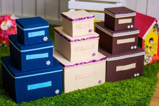 Делаем картонную коробку для вещей своими руками