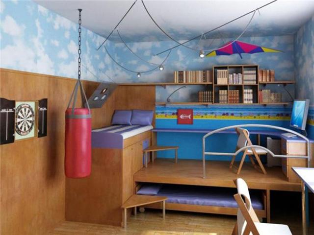 Интерьер детской комнаты. Фотографии детских интерьеров