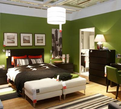 Функциональная спальня от Икеа