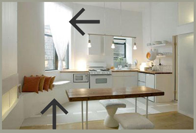 Визуальное увеличение пространства в маленькой квартире