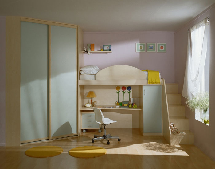 Цветовая гамма в интерьере детской комнаты