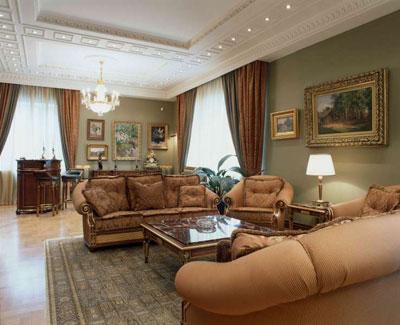 Классические стили в интерьере: классицизм, барокко, рококо, ампир