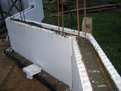Технология строительства Изодом (дом из пенополистирола)