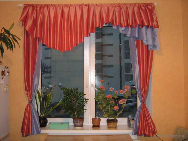 Шторы и занавески для кухни и столовой. Дизайн штор для кухни (фото)