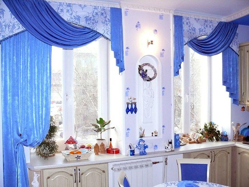Шторы для кухни и столовой фото