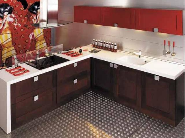 Фотография кухни в японском стиле