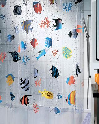 Как выбрать занавески для ванной