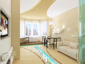 Профессиональный дизайн квартиры: современный подход