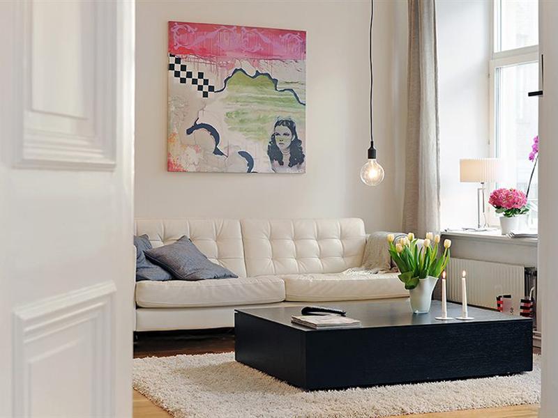 Квартира в шведском стиле