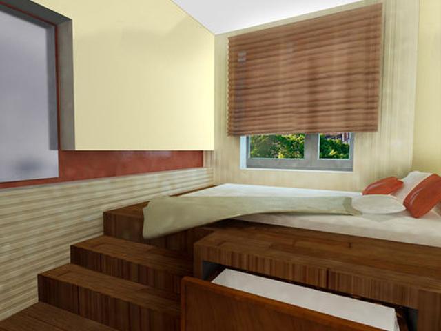 Дизайн интерьера маленькой спальни. Фотографии небольших спален