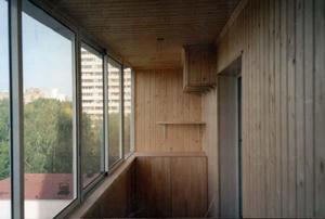 Отделка лоджий и балконов под комфортабельное использование