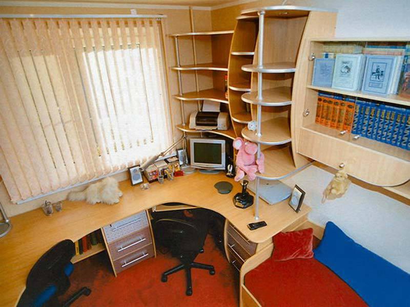 Письменные столы для двоих детей