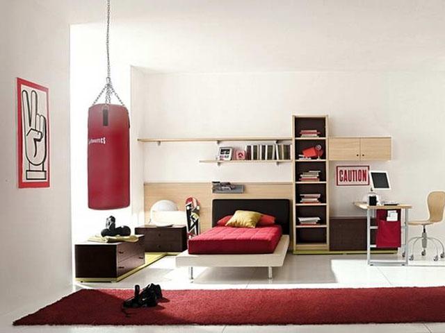 Дизайн детской комнаты для мальчика-подростка. Фото интерьеров