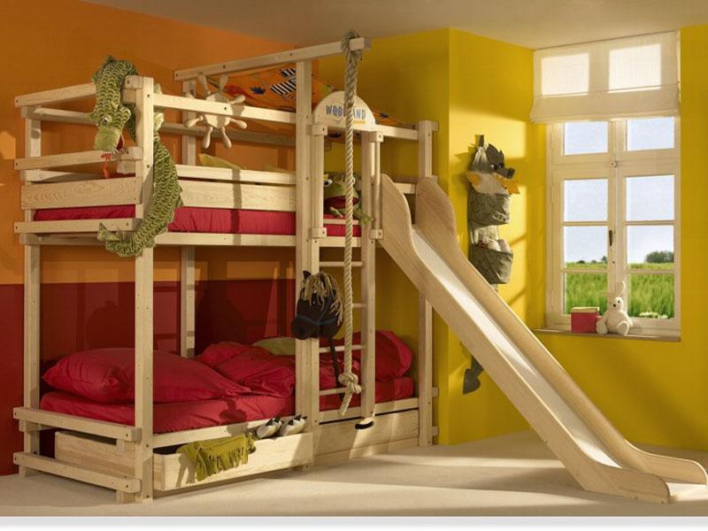 Кровати для детей: детские двухъярусные кровати. Фотографии кроватей