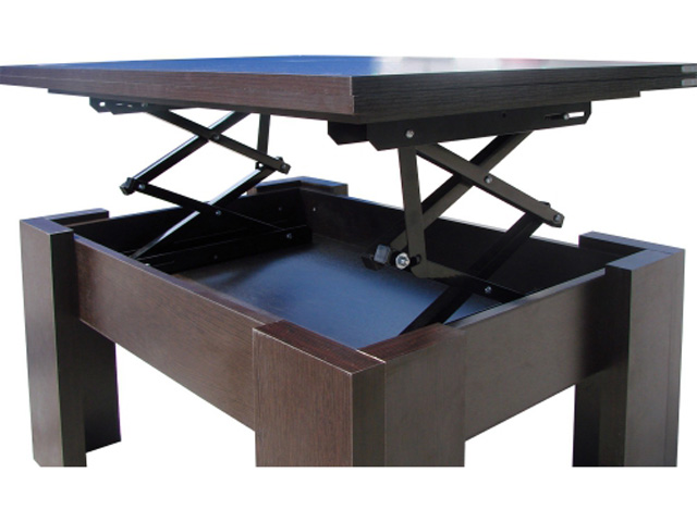 Стол-трансформер журнальный обеденный. Как выбрать журнально-обеденный стол?