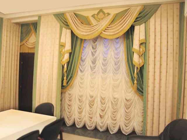Дизайн интерьера с французскими шторами