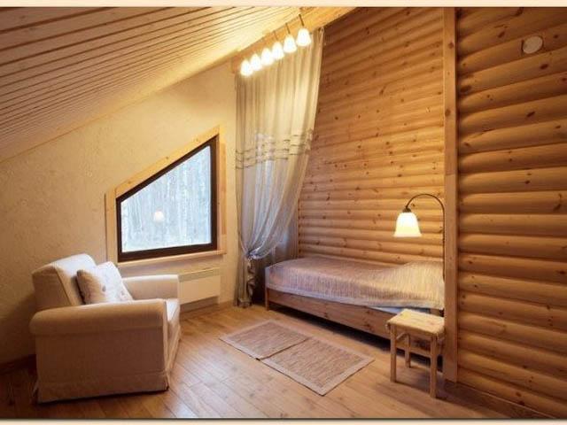 Дизайн интерьера деревянного дома внутри. Фото интерьеров