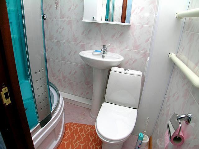 Ванная комната в квартире хрущевке