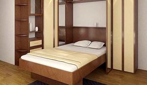 Кровать-невидимка — удобное и простое решение!