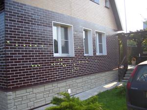Отделка фасада частного дома. Материалы для наружной отделки
