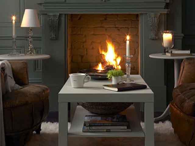 Дизайн гостиной с камином. Фото интерьеров зала с камином